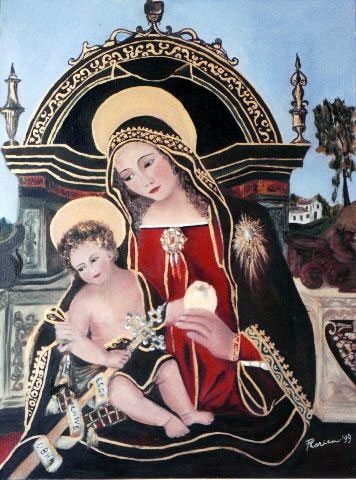 98_Madonna_and_child_18x24_1999